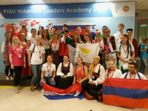 IOAPA Members at the FISU Volunteer Leaders Academy