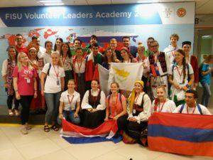 IOAPA Members at the FISU Volunteer Leaders Academy